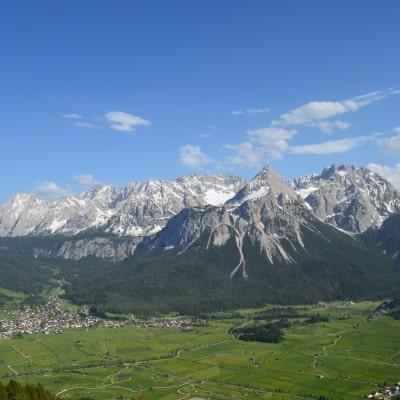 Tuftl Alm Panorama